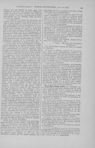 Tome 60 : Du 9 au 30 mars 1793 - page 29