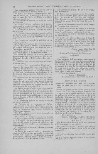 Tome 60 : Du 9 au 30 mars 1793 - page 30