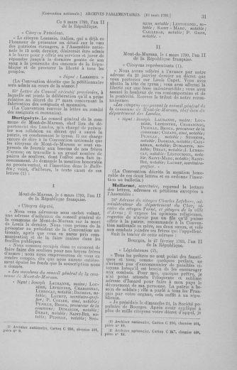 Tome 60 : Du 9 au 30 mars 1793 - page 31