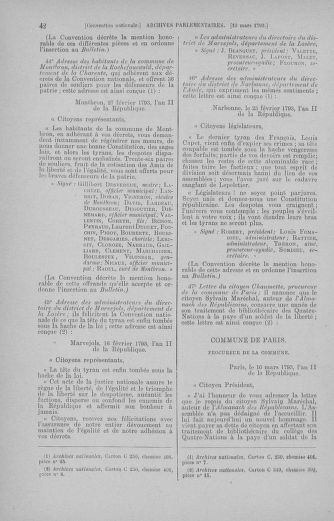 Tome 60 : Du 9 au 30 mars 1793 - page 42