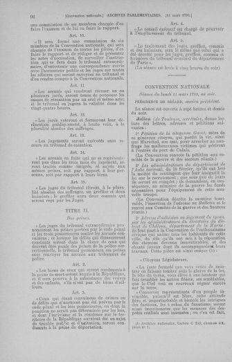Tome 60 : Du 9 au 30 mars 1793 - page 96