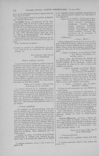 Tome 60 : Du 9 au 30 mars 1793 - page 112
