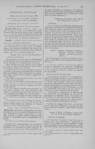 Tome 60 : Du 9 au 30 mars 1793 - page 143