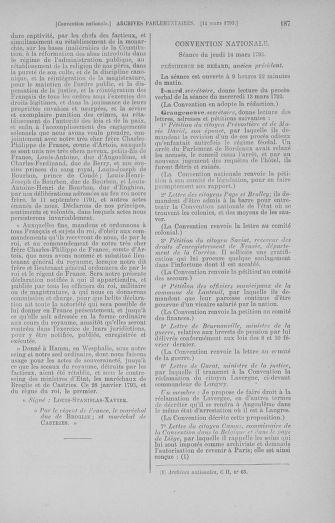 Tome 60 : Du 9 au 30 mars 1793 - page 187
