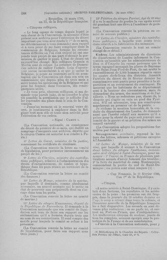 Tome 60 : Du 9 au 30 mars 1793 - page 188