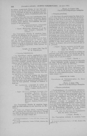 Tome 60 : Du 9 au 30 mars 1793 - page 192