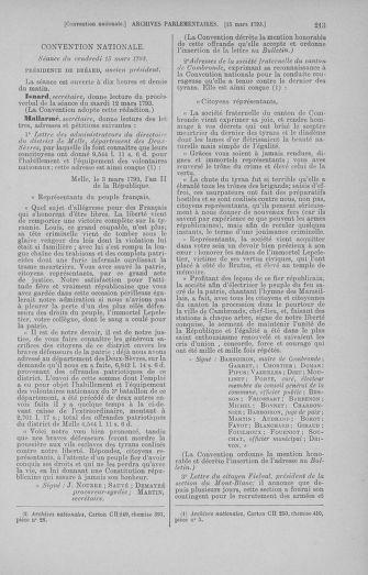 Tome 60 : Du 9 au 30 mars 1793 - page 213