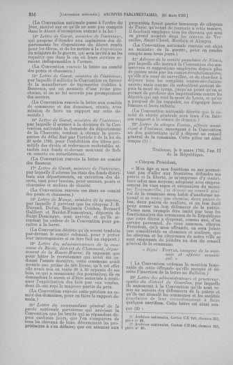 Tome 60 : Du 9 au 30 mars 1793 - page 216
