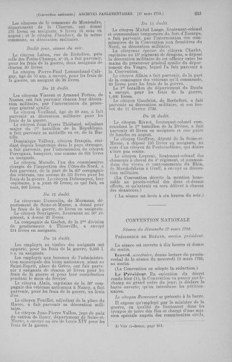 Tome 60 : Du 9 au 30 mars 1793 - page 253