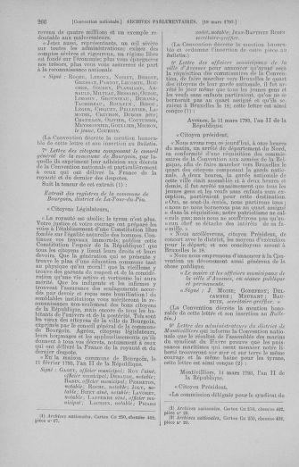 Tome 60 : Du 9 au 30 mars 1793 - page 266