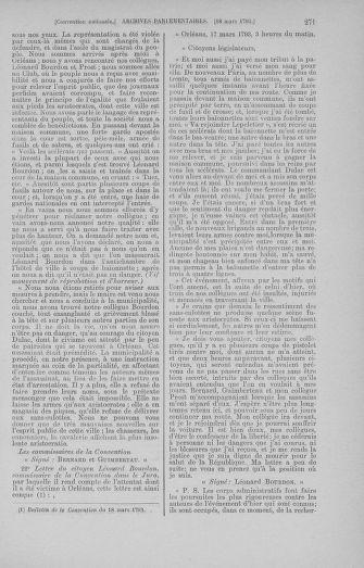 Tome 60 : Du 9 au 30 mars 1793 - page 271