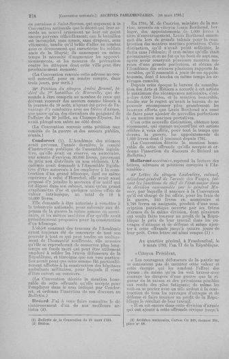 Tome 60 : Du 9 au 30 mars 1793 - page 278