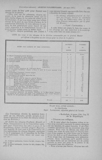 Tome 60 : Du 9 au 30 mars 1793 - page 279
