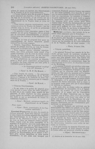 Tome 60 : Du 9 au 30 mars 1793 - page 296