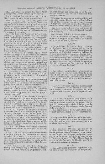 Tome 60 : Du 9 au 30 mars 1793 - page 297