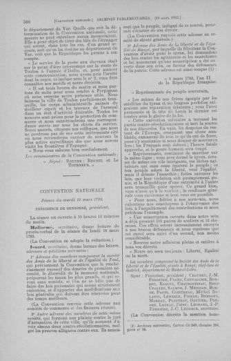 Tome 60 : Du 9 au 30 mars 1793 - page 300