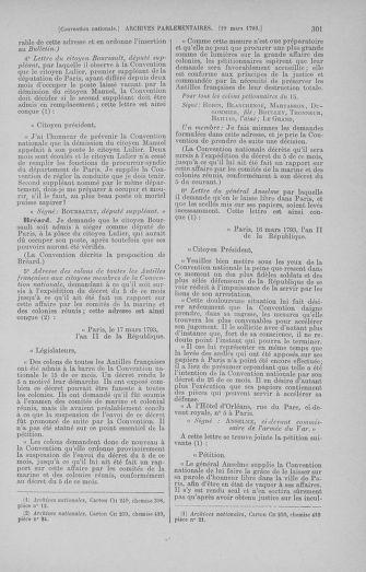 Tome 60 : Du 9 au 30 mars 1793 - page 301