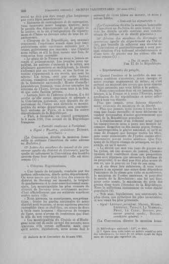 Tome 60 : Du 9 au 30 mars 1793 - page 306