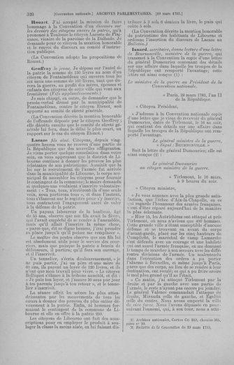 Tome 60 : Du 9 au 30 mars 1793 - page 320