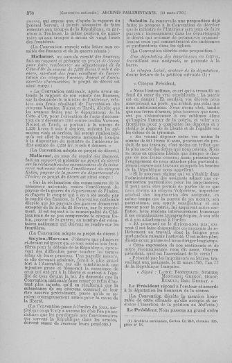 Tome 60 : Du 9 au 30 mars 1793 - page 370