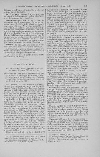 Tome 60 : Du 9 au 30 mars 1793 - page 393