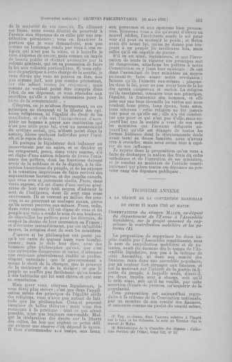 Tome 60 : Du 9 au 30 mars 1793 - page 403