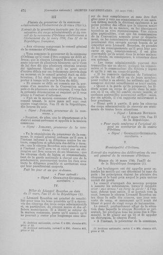 Tome 60 : Du 9 au 30 mars 1793 - page 474