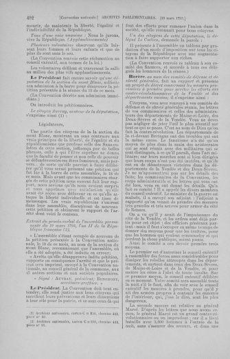 Tome 60 : Du 9 au 30 mars 1793 - page 492
