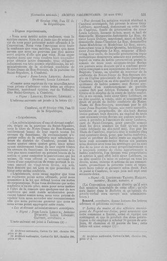 Tome 60 : Du 9 au 30 mars 1793 - page 531