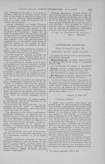 Tome 60 : Du 9 au 30 mars 1793 - page 555