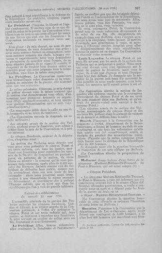 Tome 60 : Du 9 au 30 mars 1793 - page 567