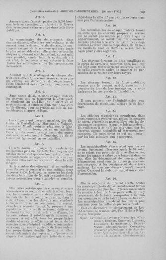 Tome 60 : Du 9 au 30 mars 1793 - page 569