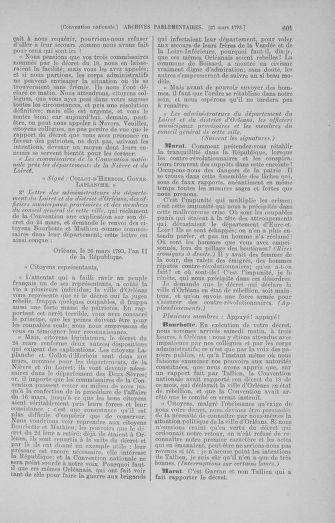 Tome 60 : Du 9 au 30 mars 1793 - page 601
