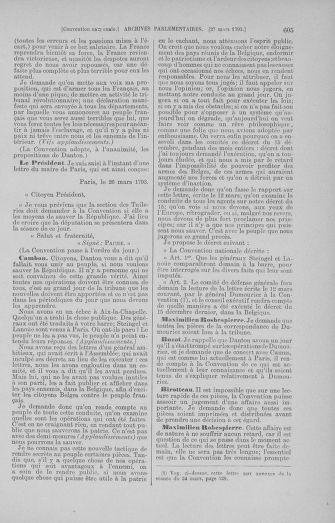 Tome 60 : Du 9 au 30 mars 1793 - page 605