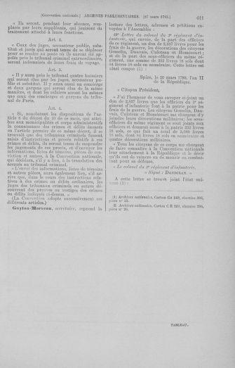 Tome 60 : Du 9 au 30 mars 1793 - page 611