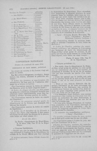 Tome 60 : Du 9 au 30 mars 1793 - page 672