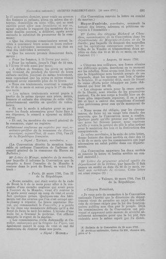 Tome 60 : Du 9 au 30 mars 1793 - page 681