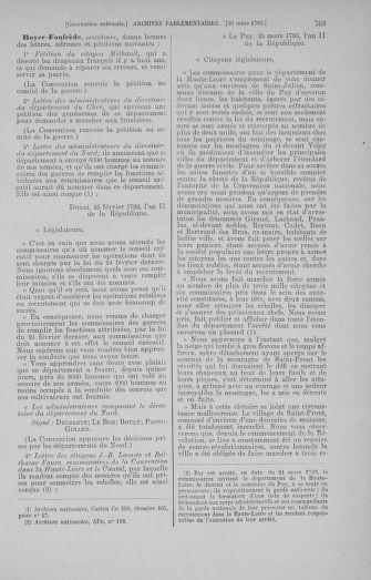 Tome 60 : Du 9 au 30 mars 1793 - page 703