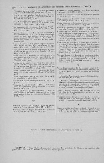 Tome 60 : Du 9 au 30 mars 1793 - page 820