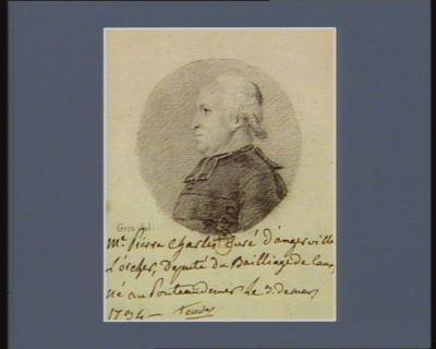 M. Pierre Charles Eudes curé d'Angerville l'Orcher député du bailliage de Caux né au Ponteaudemer le 3 de mars 1734 : [dessin]