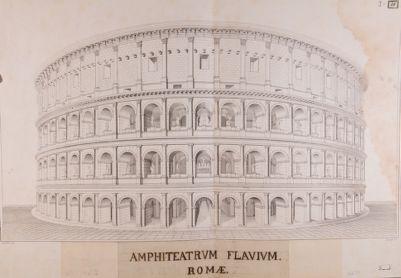 Colosseo, ricostruzione ideale