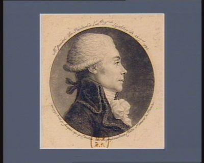 Mr Guadet élu président de l'Ass.blée n.ale législative le 22 j.ier 1792 [estampe]