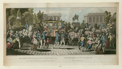 The  Kings entry into Paris on the 6 of October 1789 [estampe]
