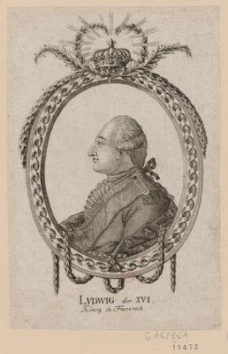Ludwig der XVI König in Frankreich : [estampe]