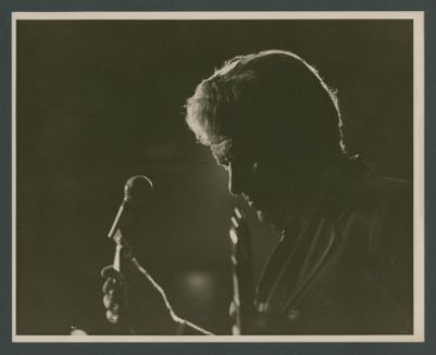 Turk Murphy at microphone