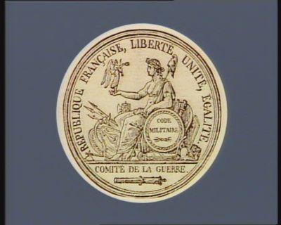 République française, liberté, unité, égalité Comité de la guerre : [estampe]