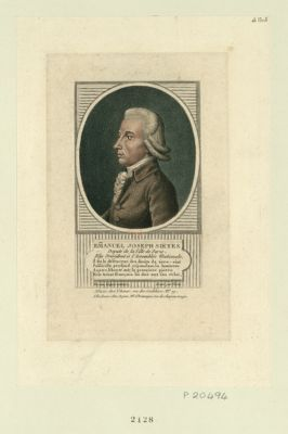Em[m]anuel Joseph Sieyes deputé de la ville de Paris, elu president à l'Assemblée nationale... : [estampe]