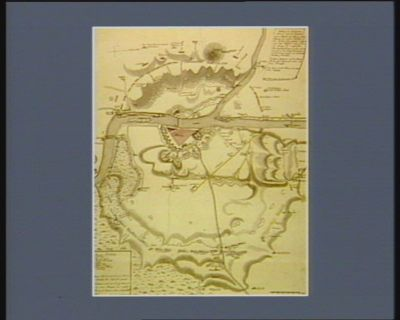 Stellung der combinierten Armeen, und der Franzosen bey der Blocade von Mainz [estampe]