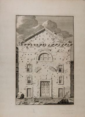 S. Adriano, facciata della chiesa sul Foro