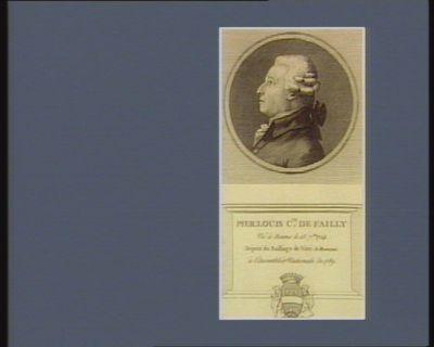 Pier. Louis c.te de Failly né <em>à</em> Reims le 13 7.bre 1724 député du bailliage de Vitri le Français <em>à</em> l'Assemblée nationale de 1789 : [estampe]